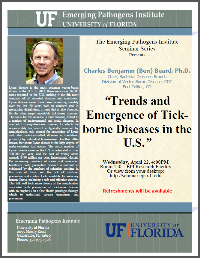 Trends and Emergence of Tick-borne Diseases in the U.S.
