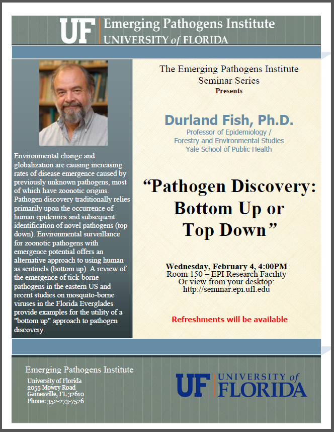Pathogen Discovery: Bottom Up or Top Down
