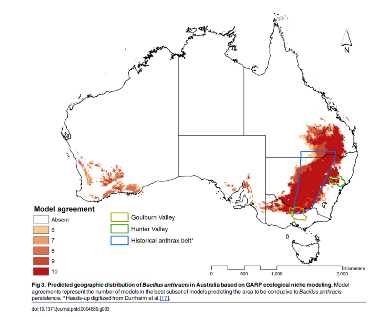 SEER Lab collaborates to redefine the geography of anthrax in Australia
